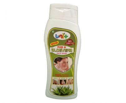 Pure+ aloe vera facewash